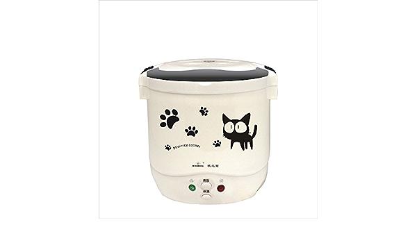 Hornillo de arroz portátil de viaje Mini multi-cooker de 1.0L 12 ...