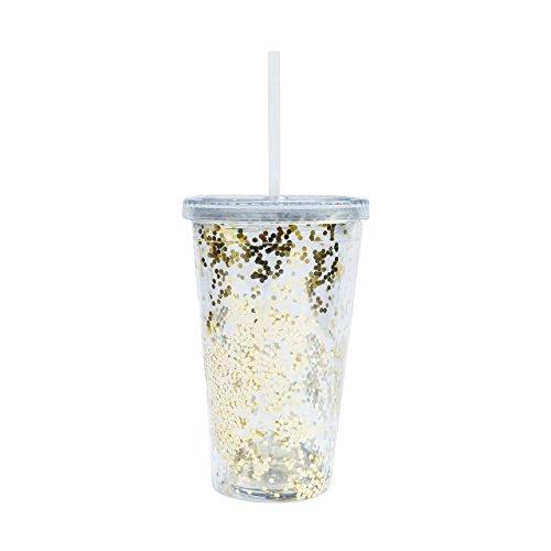 Gold Glitter Acrylic Tumbler Unicorn Mug Travel Mug Gift for