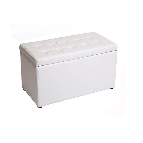 Groovy Amazon Com Star Life Ottoman Pu Leather Storage Footstool Beatyapartments Chair Design Images Beatyapartmentscom