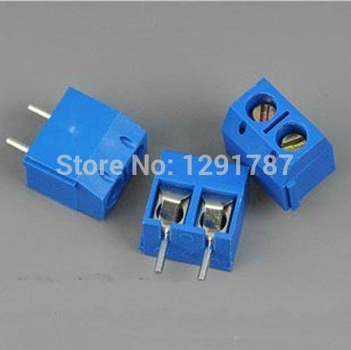 20PCS 5.08mm 2 Pin Connect Terminal Screw Terminal Connector KF301-2P