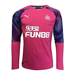 2019-2020 Newcastle Home Goalkeeper Football Soccer T-Shirt Maillot Pink (Kids)