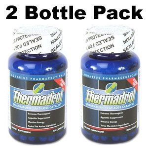 Extreme Appetite Force faim, Energy Enhancer et métabolisme booster contient: - Thermadrol 120 Capsules 2 Pack Bouteille