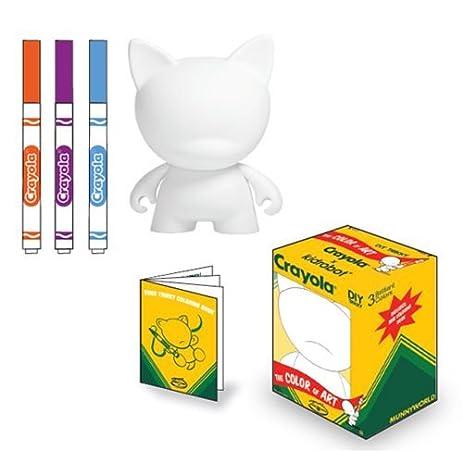 Kidrobot Crayola 4 Inch DIY Trikky Vinyl Figure