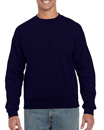 Gildan Men's Heavy Blend Crewneck Sweatshirt - Medium - Navy