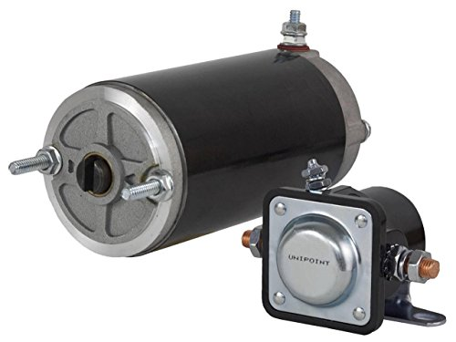 Rareelectrical new snow plow lift motor and solenoid meyer for Motor lift for sale