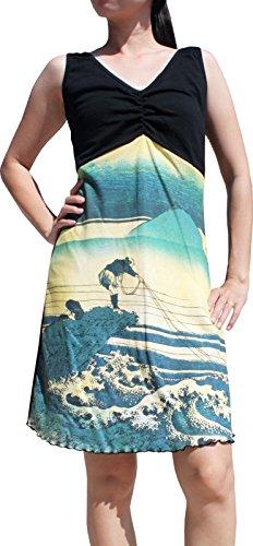 japanese print dresses - 8
