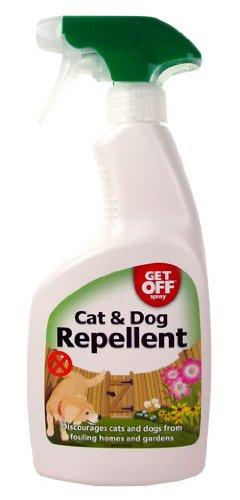 GET OFF Spray repelente para gatos y perros, 500 ml: Amazon.es: Productos para mascotas