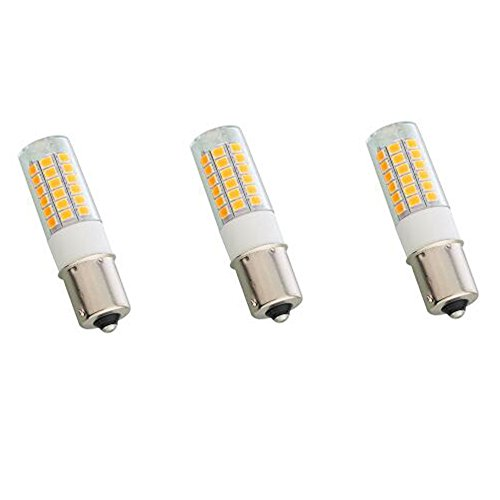 e Contact Bayonet 1156 1141 LED Light Warm White 12V AC/DC for Outdoor Landscape Lighting Path Area Auto Turn Signal Trail RV Lighting Camper Marine Boats Low Voltage Light 3-Pack ()