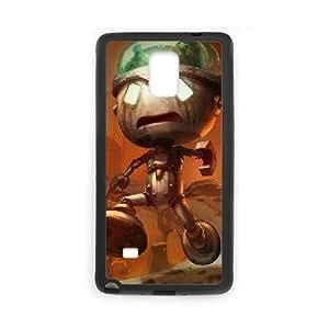 Generic for Samsung Galaxy Note 4 Cell Phone Case Black League of Legends Amumu Custom 1729