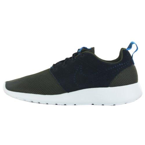 Nike Mens Roshe Run Foncé Loden / Foncé Loden / Minuit Turquoise / Noir 12.5 D - Moyen