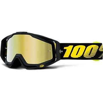 Racecraft 100/% ERSATZSCHEIBE für Crossbrille Strata Accuri verspiegelt gold