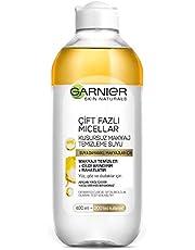 Garnier Skin Naturals Çift Fazlı Micellar Kusursuz Makyaj Temizleme Suyu, 400 ml, 1 Paket