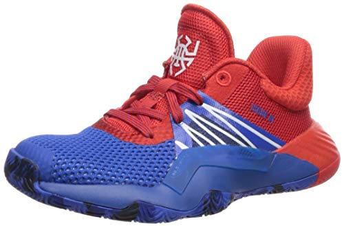 adidas Boy's D.O.N. Issue #1 Basketball Shoe, Blue/Red/White, 6.5 Medium US Big Kid (Kids Basketball Shoes Size 1)
