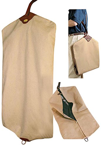 Orvis Canvas Garment Bag (Orvis Leather Luggage)