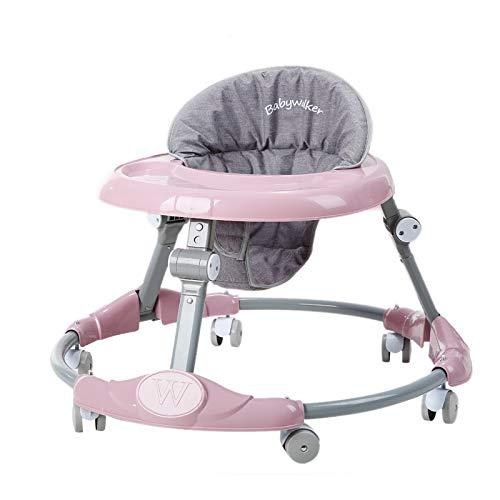 BLWX LY Andadores for bebés, Andador Infantil Ajustable con Placa ...