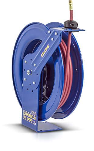 Rewind Reel Spring (Coxreels EZ-SH-3100 Safety Series Spring Rewind Hose Reel for air/water: 3/8