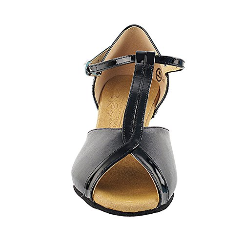 Gold Pigeon Shoes 50 Shades Of Low Heel Dance Shoes Dance Dress Shoes Collection (Vegan Available): Women Ballroom, Latin, Tango, Salsa, Swing, Practice, Theather Art by 50 Shades S2804 Black (Vegan)