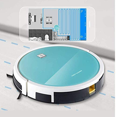 8bayfa Aspirateur Robot, Control App Rechargement Automatique Carte de Navigation, Smart Home Sweeper