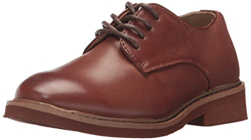 Deer Stags Boys' Denny Oxford, Dark Luggage, 13 Medium US Little Kid (Boys Oxfords Casual)