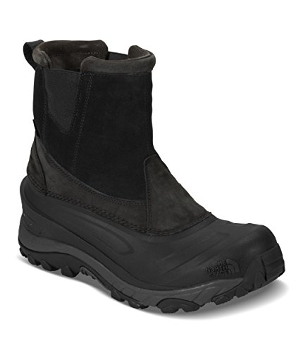 - The North Face Chilkat III Pull-On Boot - Men's TNF Black/Beluga Grey, 11.0