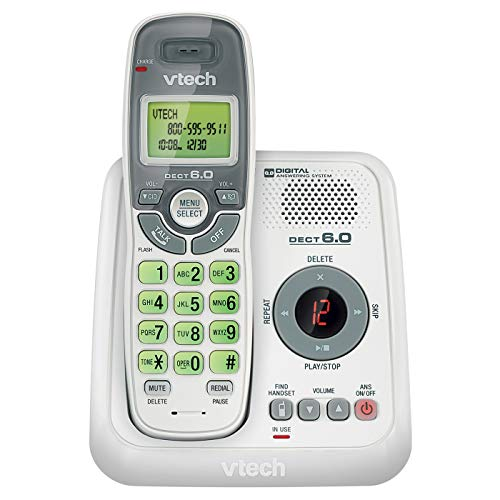 Vtech CS6124 Cordless Answering System (Certified Refurbished)