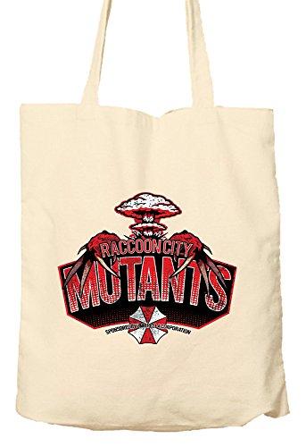 Raccoon City Mutanten–Resident Evil Parodie–Tasche, natur Einkaufstasche, umweltfreundlich