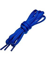 """Chengjie Oval Shoelaces 17 Colors Half Round 1/4"""" Sports Shoe Laces 3 Different Lengths,6 Pairs"""