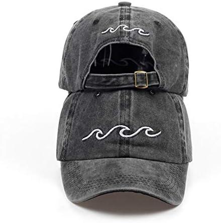 Baseballmütze Papa Hüte Frauen Männer Meereswelle Baseballmütze Hochwertige Uni Mode Papa Hüte Neue Sporthüte