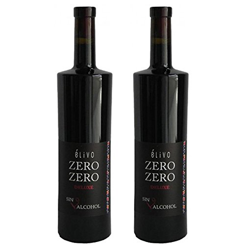 Elivo Zero Zero Deluxe Red Non-Alcoholic Red Wine 750ml (2 Bottles)