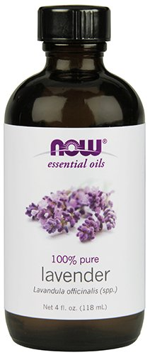 NOW Solutions Lavender Essential Oil, Floral, 4-Ounce