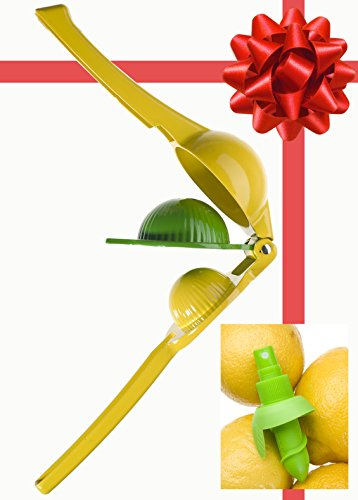 Juicing Just got FUN. Fresh Citrus Juice Press Manual Juicer / Citrus Juicer - The Perfect Fit for Healthy Eating and all your Juicing Recipes (Juice Citrus Extractor compare prices)
