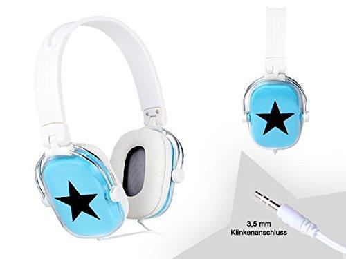 Écouteur Musique stéréo Audio différents modéles pour iPhone iPod MP3 Casque, Sélectionnez Casque:KO-02 Bleu