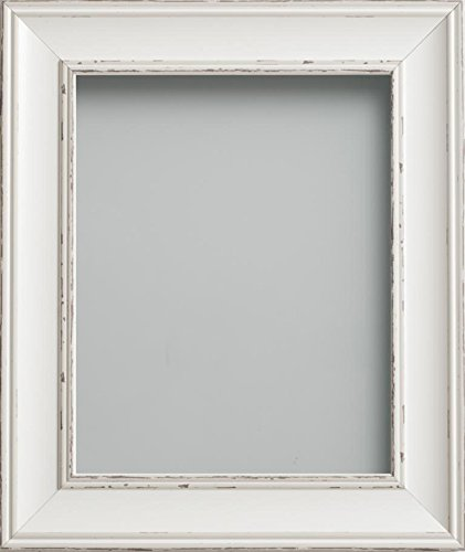 Frame Company Brooke Range 10 x 8 Picture Photo Frame, Antique White ...