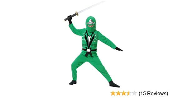Green Ninja Avengers Series Ii Costume for Kids