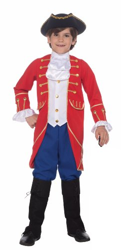Colonial America Costumes Kids (Forum Novelties Patriotic Party Founding Father Costume, Child Small)