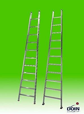 escalera de Aluminio para agricultura cónica doin Venus 9 11 13 peldaños: Amazon.es: Bricolaje y herramientas