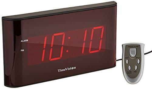 Sper Scientific 810010 reloj de pared, tamaño grande, pantalla LED, 2,5