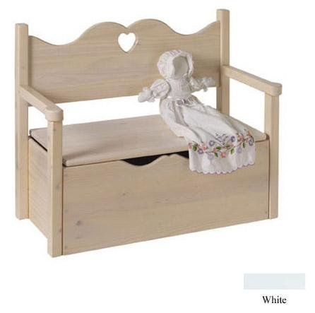 Little Colorado Bench Toy Box - SWHT