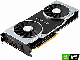 NVIDIA Official GeForce RTX 2080 Founders Edition 8GB GDDR6 PCI Express 3.0 Graphics Card