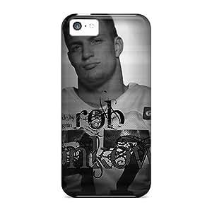 Unique Design Iphone 5c Durable Case Cover Rob Gronkowski Black And White
