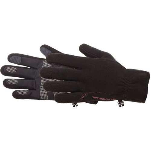 Manzella Tempest Windstopper Touch Tip Fleece Gloves - Women's Black Large