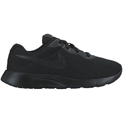(Nike Boy's Tanjun Running Sneaker, Black/Black 1.5Y)