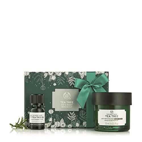 The Body Shop Tea Tree Day & Night Rescue Kit Gift Set (Vegan) ()
