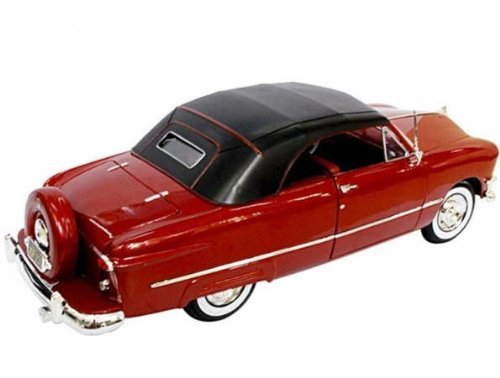 Details about  /1950 Ford Convertible Soft Top Red diecast 1:18 scale in exc cond Retired
