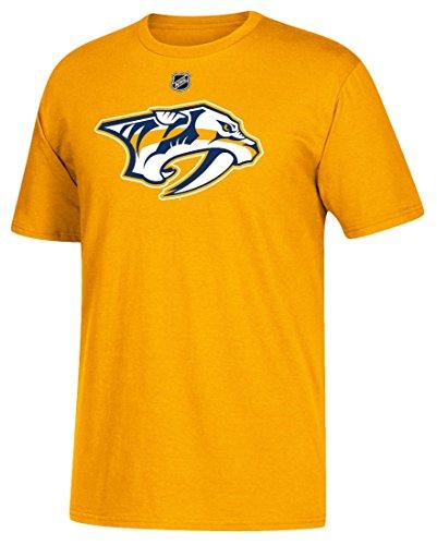 Pekka Rinne Nashville Predators Adidas NHL Men's Gold Player T-Shirt