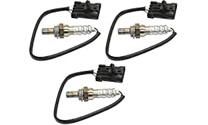 Oxygen Sensor for Chevrolet Blazer 95-01 / Corvette 94-03 Heated 4-Wire Threaded-In Type Set of 3