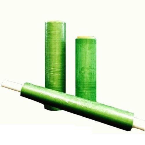 Perf Wrap - 16 Rolls Hand Stretch Plastic Wrap Green Tint Hi-Perf Film 12