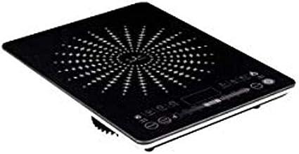 Jata VIN145 Cocina Eléctrica de Inducción Portátil con Placas de 12 a 26 cm de Diámetro 8 Funciones Pulsadores Táctiles Display LED Regulador ...