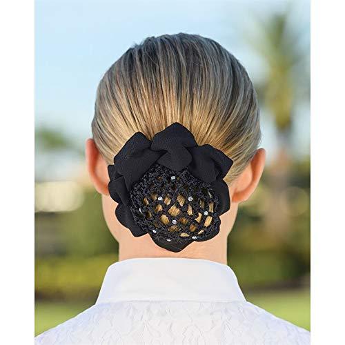 Dover Saddlery Hair Net Bun Cover - Black ()
