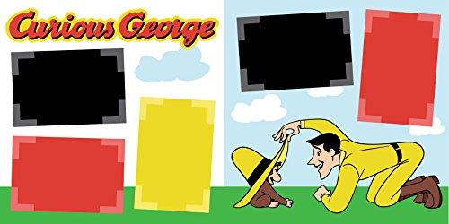 Curious George Scrapbook Paper - 2